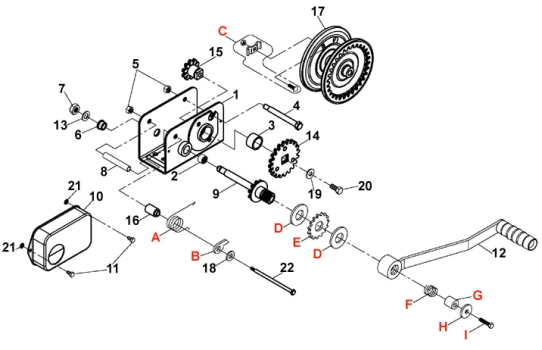 winch parts diagram